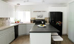 Linen Kitchen Cabinets Our Painted Kitchen Cabinets Chris Loves Julia