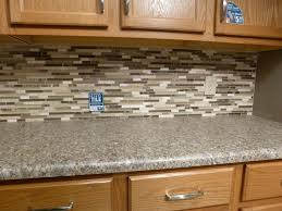 beautiful glass tile backsplash model with home interior designing