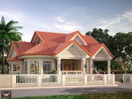 elevated bungalow with attic home design