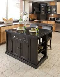 Distressed Black Kitchen Island by Movable Kitchen Island Rolling Kitchen Island Cart Foter Fixer
