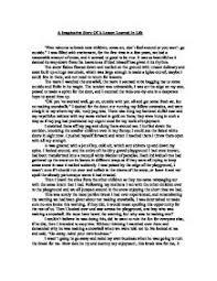 lesson in life essay    jpg