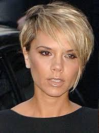 victoria beckham pixie cut blonde google search diy hair care