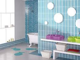 bathroom colorful balls in playful kids bedroom decoration