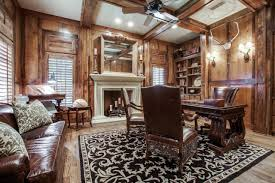 Comfortable Home Decor Home Office Rustic Home Office Photos Hgtv For Rustic Home