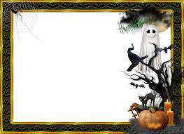 halloween transparent large photo frame marcos frame pinterest
