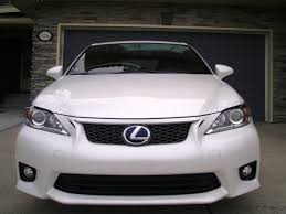 2012 lexus ct200 f sport for sale new f sport grille and bumper protector
