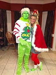 Christmas Halloween Costumes Diy Grinch Cindy Lou Cute Christmas