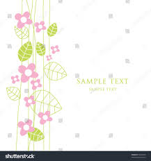 cute birthday greeting card copy space simple stock vector
