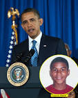 President Obama: 'If I Had A Son He'd Look Like Trayvon' Martin