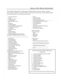 Sample Resume Qualifications List by Skills Examples For Cashier Frizzigame Job Resume Sample Proposal