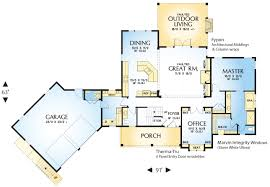 Housedesigners Cascadia 4728 3 Bedrooms And 3 Baths The House Designers