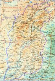 Map Of China Provinces Shanxi Map Map Of Shanxi Shanxi Province Map