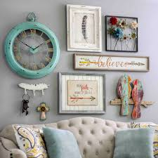 bring a shabby chic charm to your home by adding pieces of wall