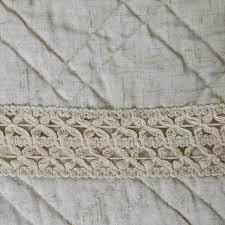chemin de lit en lin couvre lit 240 x 260 cm ibiza lin couvre lit boutis eminza