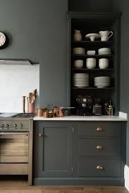 Dark Grey Cabinets Kitchen Best 25 Green Kitchen Furniture Ideas On Pinterest Green Home