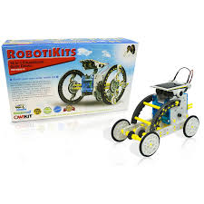 amazon com owi 14 in 1 solar robot toys u0026 games