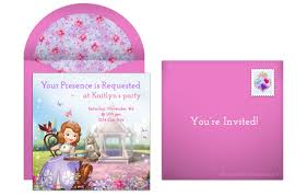 Online Invitation Card Design Free Plan A Royal Sofia The First Birthday Party