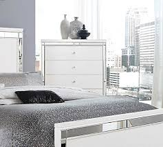 White Bedroom Collections Alina White Bedroom Collection Urban Transitional