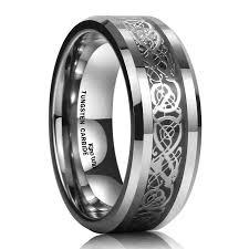 halloween wedding rings mens wedding rings amazon com