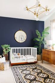 Navy Blue Wall Bedroom Midnight Blue Wall Paint Home Design Ideas