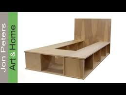 best of king size platform bed plans with drawers and build a