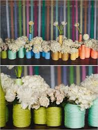 Rainbow Wedding Centerpieces by 11 Best Images About Rainbow Colored Weddings On Pinterest