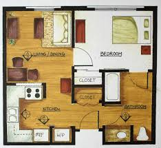 Mother In Law Suite Backyard by Simple Floor Plan Nice For Mother In Law Has 2 Closets