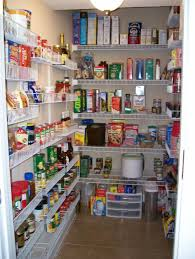 Kitchen Pantry Shelving Ideas by Kitchen Pantry Makeover Replace Wire Shelves With Wrap Around