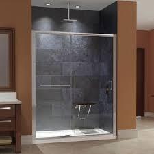 dreamline essence 56 to 60 in frameless bypass shower door free