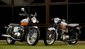 top 5 modern classic motorcycles triumph bonneville honda cb1100