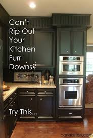 How To Remodel Old Kitchen Cabinets Best 25 Kitchen Soffit Ideas On Pinterest Soffit Ideas Crown