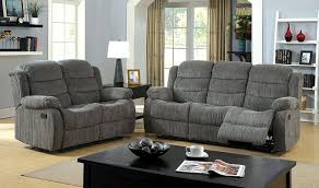 Grey Sofa And Loveseat Set Amazon Com Furniture Of America Blake Chenille Love Seat With 2