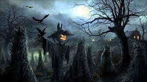 spooky halloween background free halloween music creepy scarecrows youtube