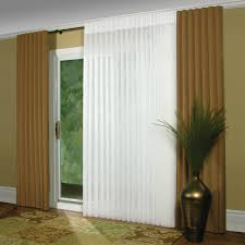 two tone blind window and sliding glass door covering decofurnish