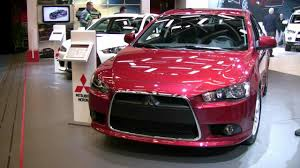2012 mitsubishi lancer sportback exterior and interior at 2012