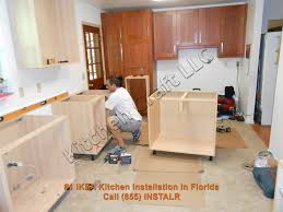 How To Install Kitchen Cabinets by Top Kitchen Cabinet Installation On Wall Of Cabinets Cabinet