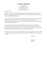 sample cover letter for director position cover letter sample for secretary position guamreview com