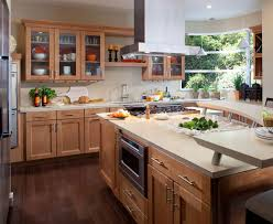 Maple Shaker Style Kitchen Cabinets Waypoint Living Spaces Style 420t In Maple Spice Kitchen Ideas