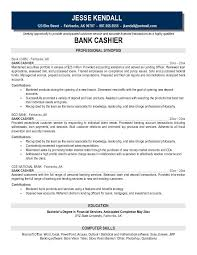 Banker Resume Example by Cashier Resume Format Cashier Resume Template Entry Level 9 A