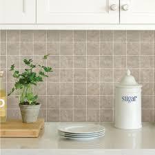 wallpops neutral travertine squares peel stick backsplash tiles