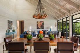 Farm Style Living Room by A Farmhouse Style Retreat In Florida Features Pops Of Color