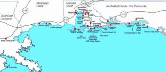 Destin Florida Map by Map Of Panhandle Florida Map Holiday Travel Holidaymapq Com