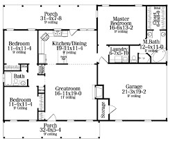 2 Floor House Plans With Photos by Colonial Style House Plan 3 Beds 2 00 Baths 1492 Sq Ft Plan 406 132