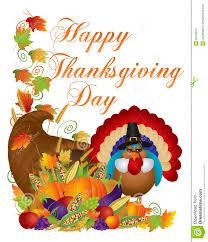 pilgrims on thanksgiving happy thanksgiving day cornucopia turkey illustrat royalty free
