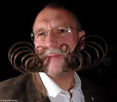Funny Crazy Beard