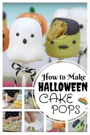 how to make halloween cake pops the budget diet