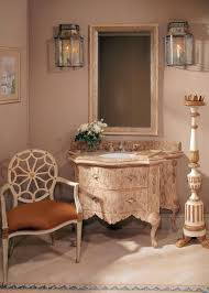 Powder Room In French Light Airy Arizona Home Inspired By French Interiors