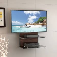Wall Hanging Shelves Design Stunning Wall Mounted Shelves For Tv Components 54 On Skinny Wall