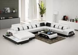 connie sectional sofa leather living room furniture fancy
