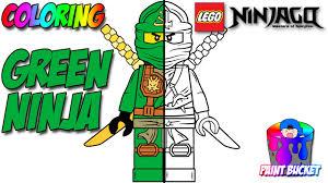 lego ninjago green ninja lloyd garmadon minifigure lego coloring